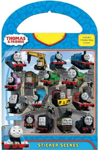 Thomas and Friends Sticker Scene